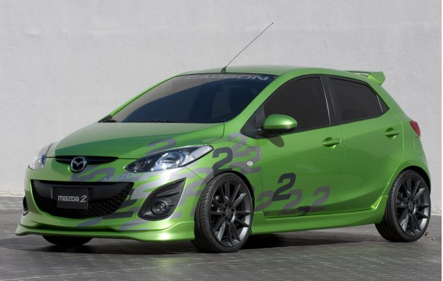 Mazda's race track inspired offerings at 2010 SEMA #9311323