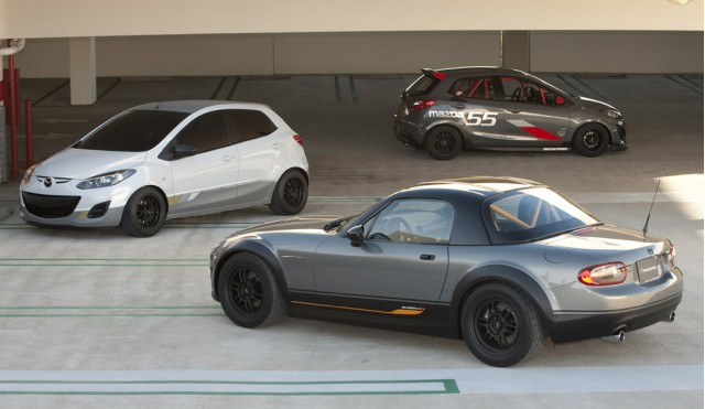 Mazda's race track inspired offerings at 2010 SEMA #9140645