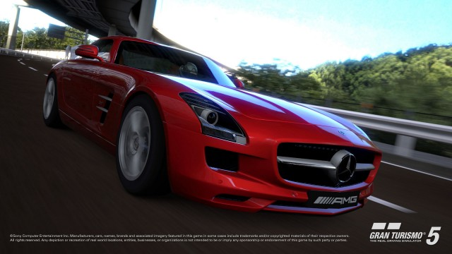 Mercedes-AMG Driving Academy To Feature Gran Turismo 5 SLS AMG Racing Demo #9956928