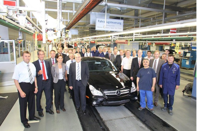 Mercedes-Benz CLS production comes to an end