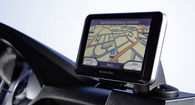 navigation systems for mercedes