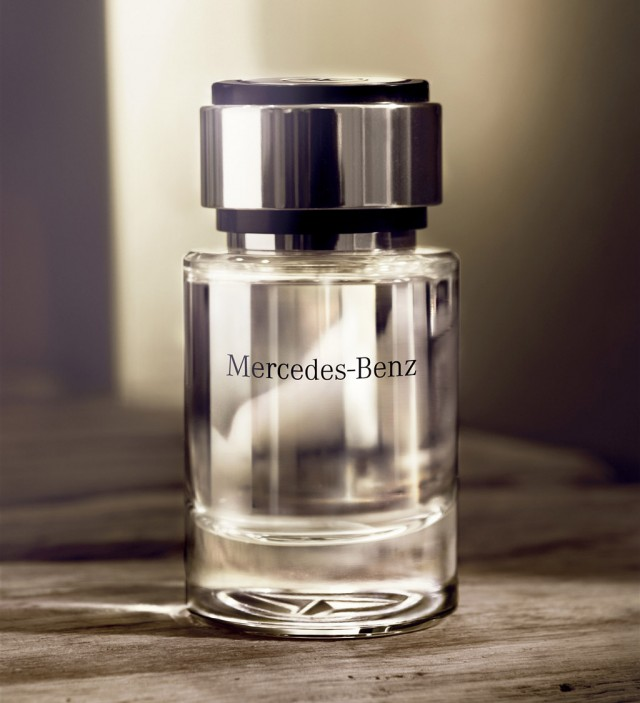 mercedes benz launches perfume for men