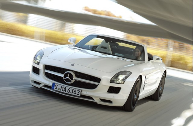 New and used mercedes benz sls amg for sale the car for Used mercedes benz sls amg for sale