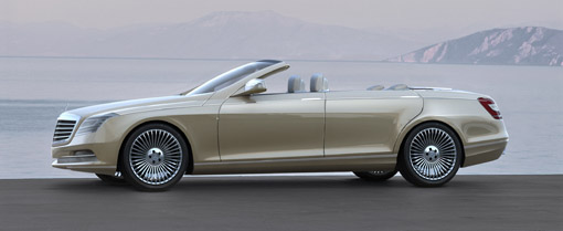 mercedes benz to build four door convertible by 2011