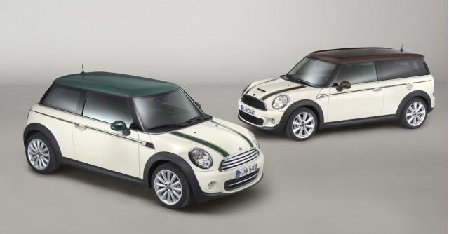 mini green park and mini clubman hyde park. Black Bedroom Furniture Sets. Home Design Ideas