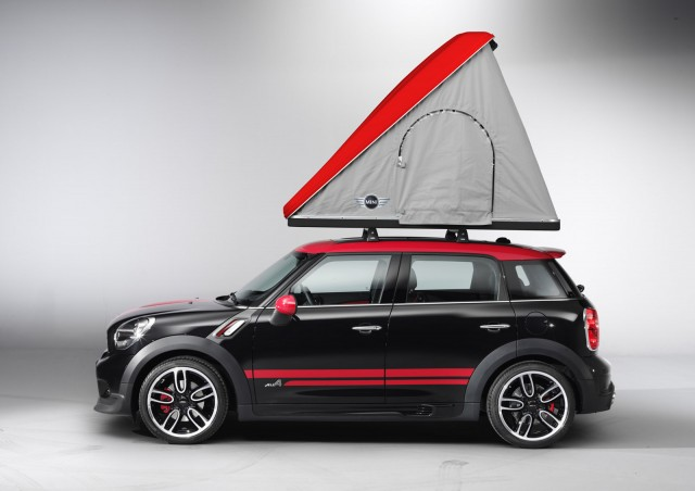 Mini Goes Camping With Cowley And Swindon Concepts