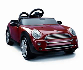 spoiled kids can get the drop on their spoiled parents by lining up for the first mini convertible available in america the mini cooper childrens