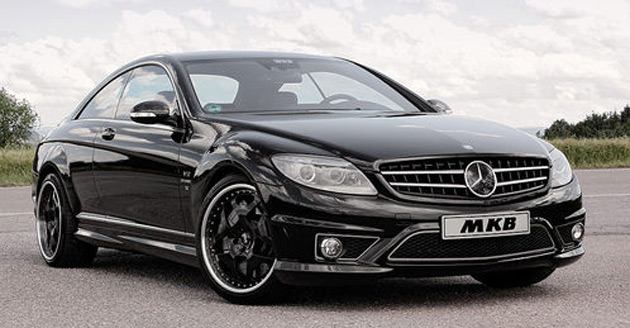 The Mercedes-Benz CL65 AMG Image It even beats the McLaren, which is a bit