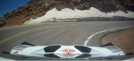 Monster Tajima sets the record at Pikes Peak IHC 2011