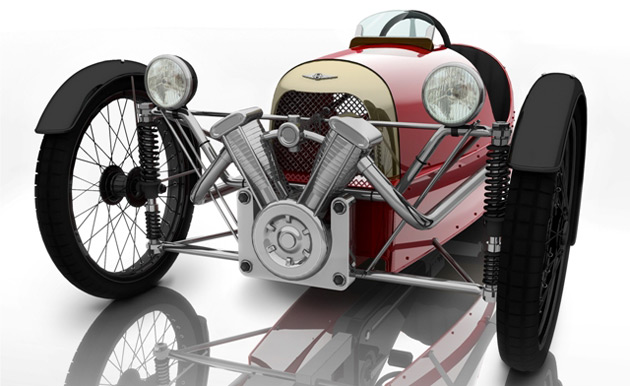 morgan unveils pedal powered 3 wheeler. Black Bedroom Furniture Sets. Home Design Ideas