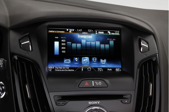 MyFord Touch, in 2012 Ford Focus Electric #8610030