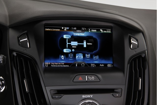 MyFord Touch, in 2012 Ford Focus Electric #9051501