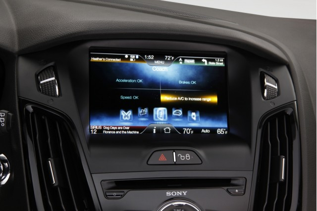 MyFord Touch, in 2012 Ford Focus Electric #7392561