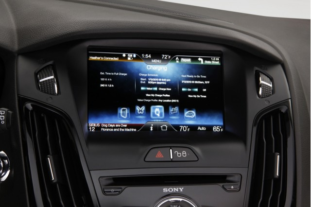 MyFord Touch, in 2012 Ford Focus Electric #8184511