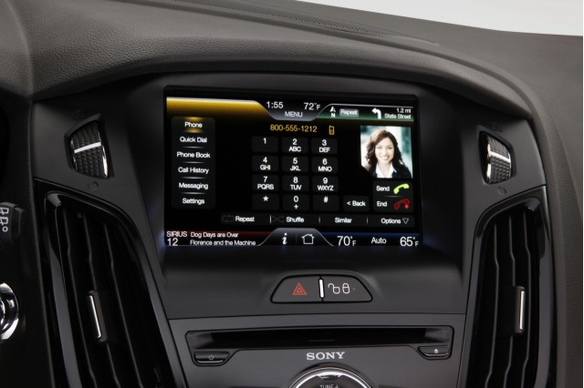 MyFord Touch, in 2012 Ford Focus Electric #7058326