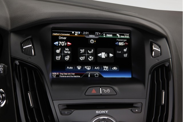 MyFord Touch, in 2012 Ford Focus Electric #8363355