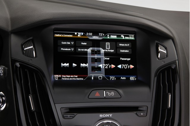 MyFord Touch, in 2012 Ford Focus Electric #8378097
