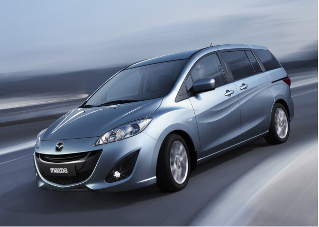 New 2011 Mazda Mazda5 minivan, to be unveiled at Geneva Motor Show, March 2010 #7228400