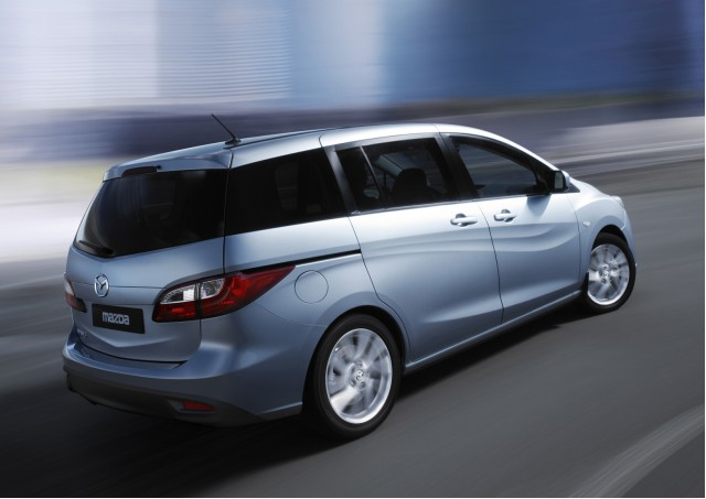 New 2011 Mazda Mazda5 minivan, to be unveiled at Geneva Motor Show, March 2010 #7126089