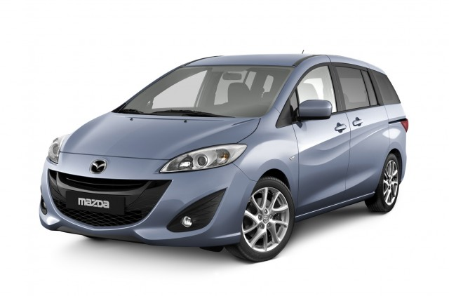 New 2011 Mazda Mazda5 minivan, to be unveiled at Geneva Motor Show, March 2010 #7593335