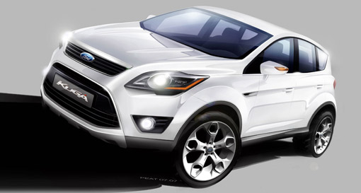 new kuga will be ford 39 s first hybrid in europe. Black Bedroom Furniture Sets. Home Design Ideas