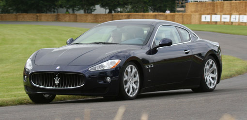 New Maserati GranTurismo at Goodwood's FOS