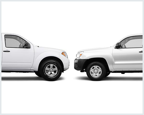 nissan frontier vs toyota tacoma compare trucks. Black Bedroom Furniture Sets. Home Design Ideas