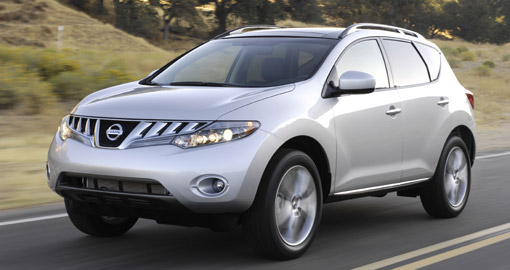 nissan murano voted safest midsize suv by iihs. Black Bedroom Furniture Sets. Home Design Ideas