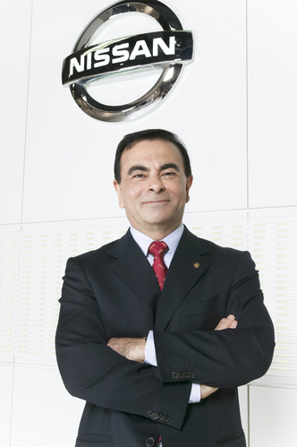 Nissan President and Chief Executive Carlos Ghosn