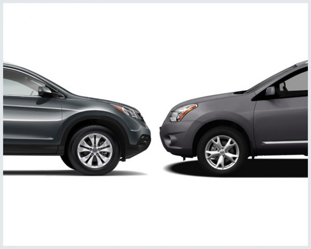 nissan rogue vs honda cr v compare cars