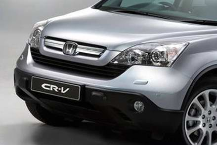 Official pics of the 2007 Honda CR-V