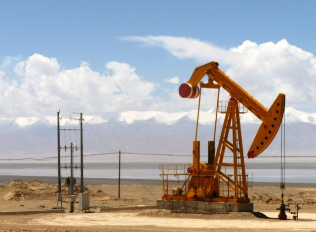Oil well (photo by John Hill)