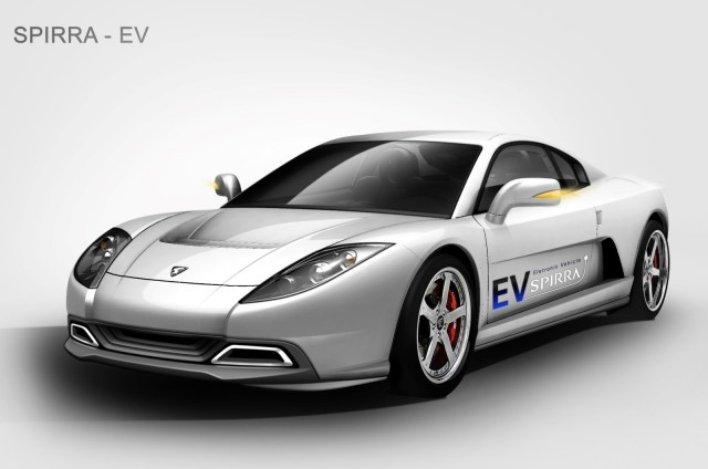 Oullim Spirra EV electric supercar