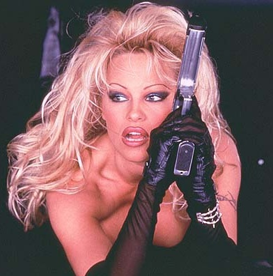pamela anderson and her benz snark all by your own self