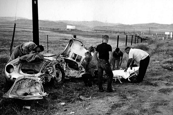 Today In History James Dean Wrecks His Porsche 550 Spyder