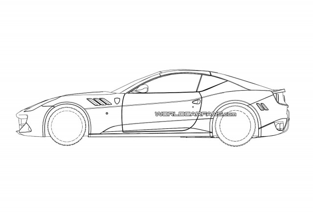 Possible patent drawings for the 2015 Ferrari California replacement