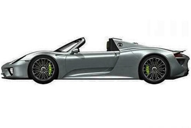 Production 918 Spyder image, reportedly filed with OHIM