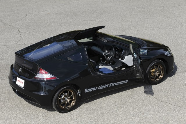 LIGHTWEIGHT CARBON FIBER CR-Z (PROTOTYPE HONDA) Prototype-honda-cr-z-with-carbon-fiber-reinforced-plastic-body-honda-proving-ground-tochigi-japan_100446380_m