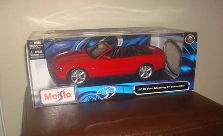 Mustang Blog Giveaway Day 3: 2010 Ford Mustang Convertible Die-Cast