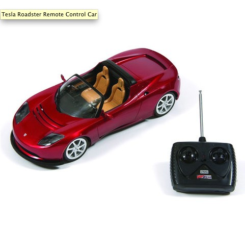 Remote-Controlled Tesla Roadster