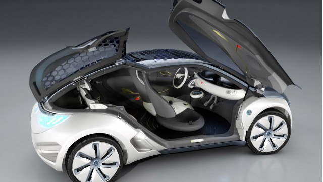 Renault and Biotherm present the ZOE Z.E. concept