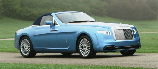 Revealed Pininfarina Designed Hyperion Rolls Royce