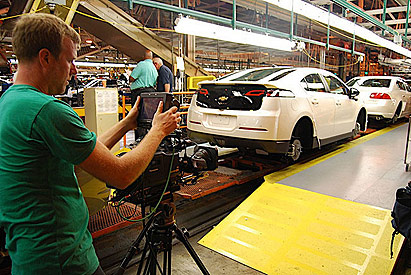'Revenge of the Electric Car' movie: 2011 Chevrolet Volt production #8217440