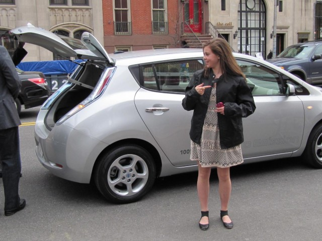 'Revenge of the Electric Car' premiere: 2011 Nissan Leaf #7412992