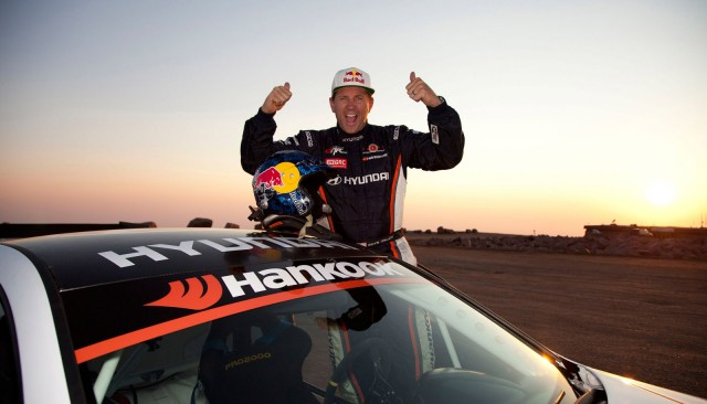 rhys millen powers genesis coupe to new pikes peak record. Black Bedroom Furniture Sets. Home Design Ideas