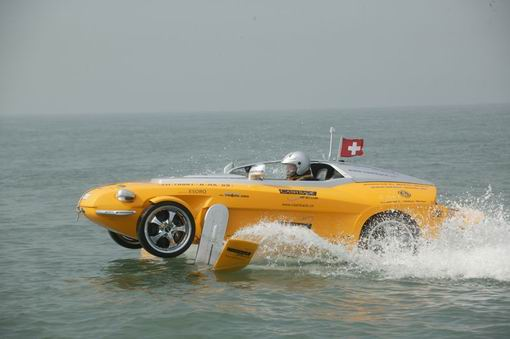 Rinspeed Car Hydrofoil Crosses English Channel