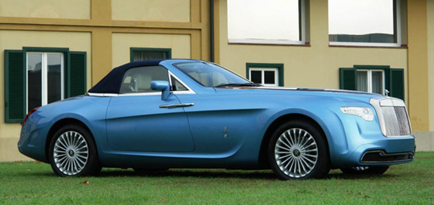 One Off Hyperion Rolls Royce By Pininfarina On Sale For 4