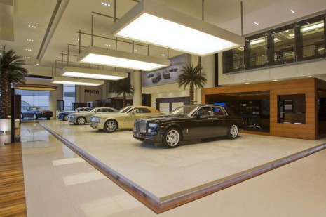 Rolls-Royce Showroom in Abu Dhabi