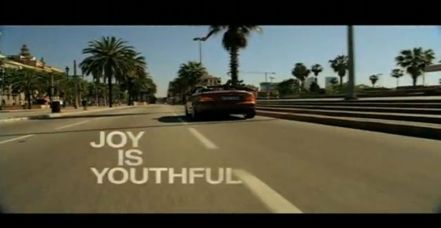 Screencap from BMW 'Story of Joy' ad