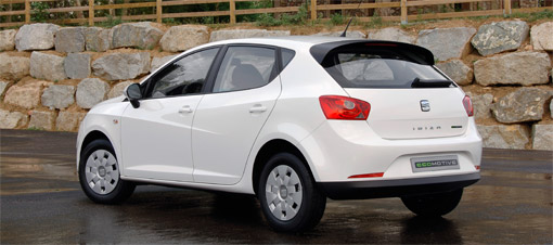seat ibiza goes green with new ecomotive model. Black Bedroom Furniture Sets. Home Design Ideas